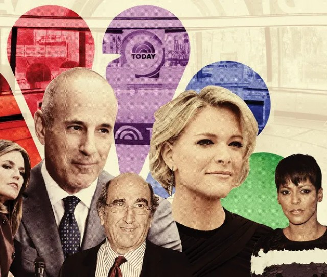 Today Anchors Savannah Guthrie And Matt Lauer Nbc News Chairman Andy Lack Nbcs Newest Recruit Megyn Kelly And Departing Todays Take Co Host Tamron