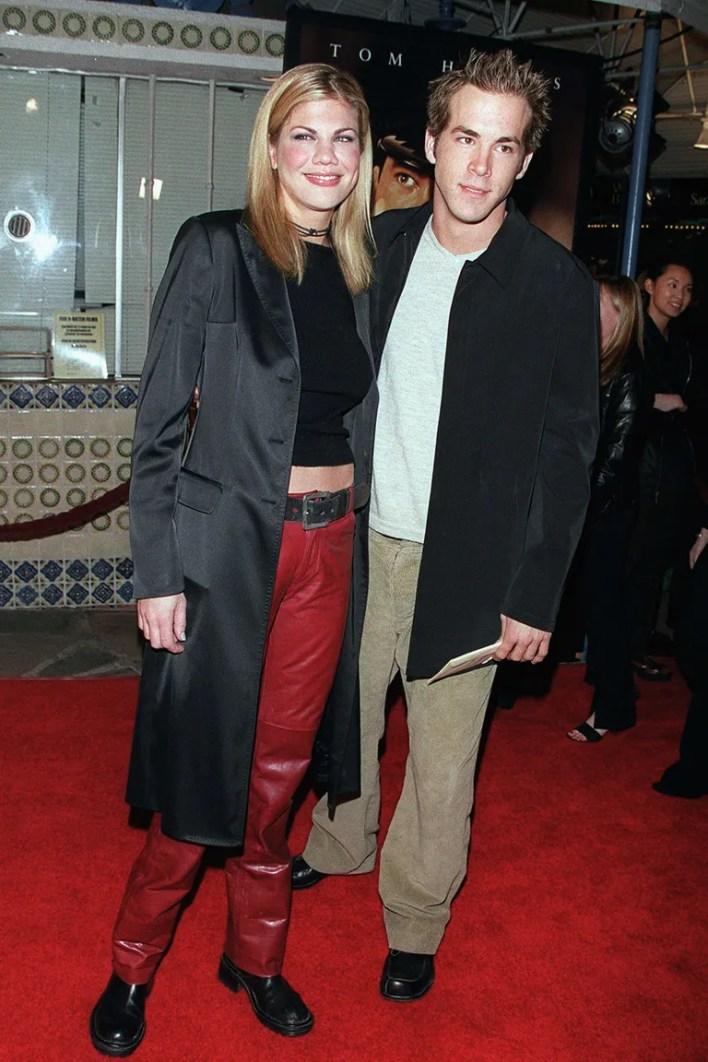 <strong>Ryan Reynolds and Kristen Johnson</strong>