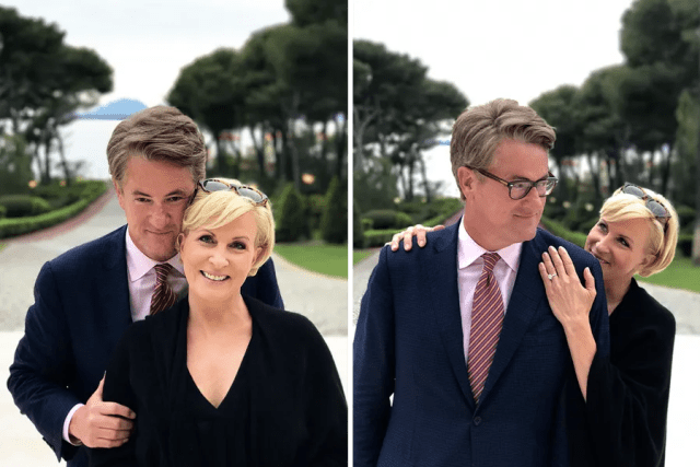 Joe Scarborough and Mika Brzezinski confirm their engagement