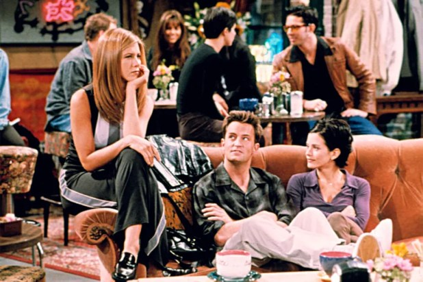 The Couch at Central Perk, <em>Friends</em>
