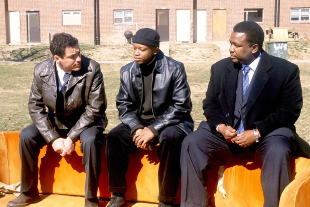 D'Angelo Barksdale's Orange Sofa, *The Wire*