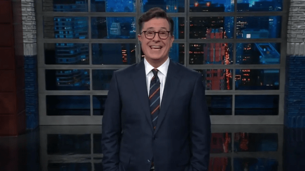 Watch Colbert Break out Christmas Songs to Celebrate ...