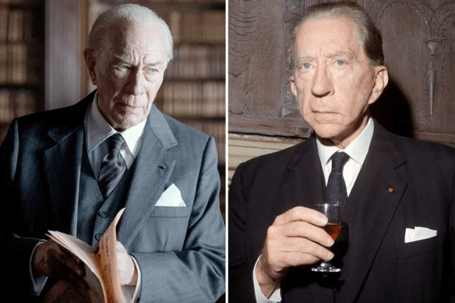 Christopher Plummer/J. Paul Getty—<em>All the Money in the World</em>