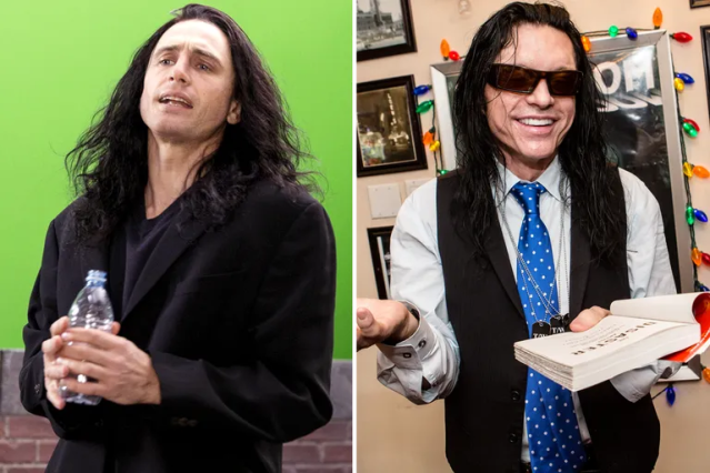 James Franco/Tommy Wiseau—<em>The Disaster Artist</em>