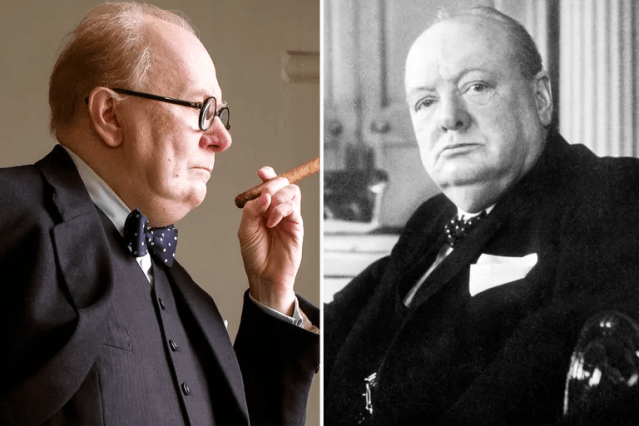Gary Oldman/Winston Churchill—<em>Darkest Hour</em>
