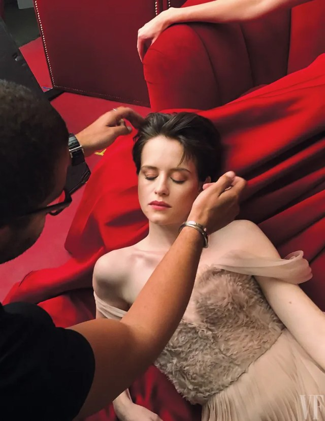 CLAIRE FOY, actor.