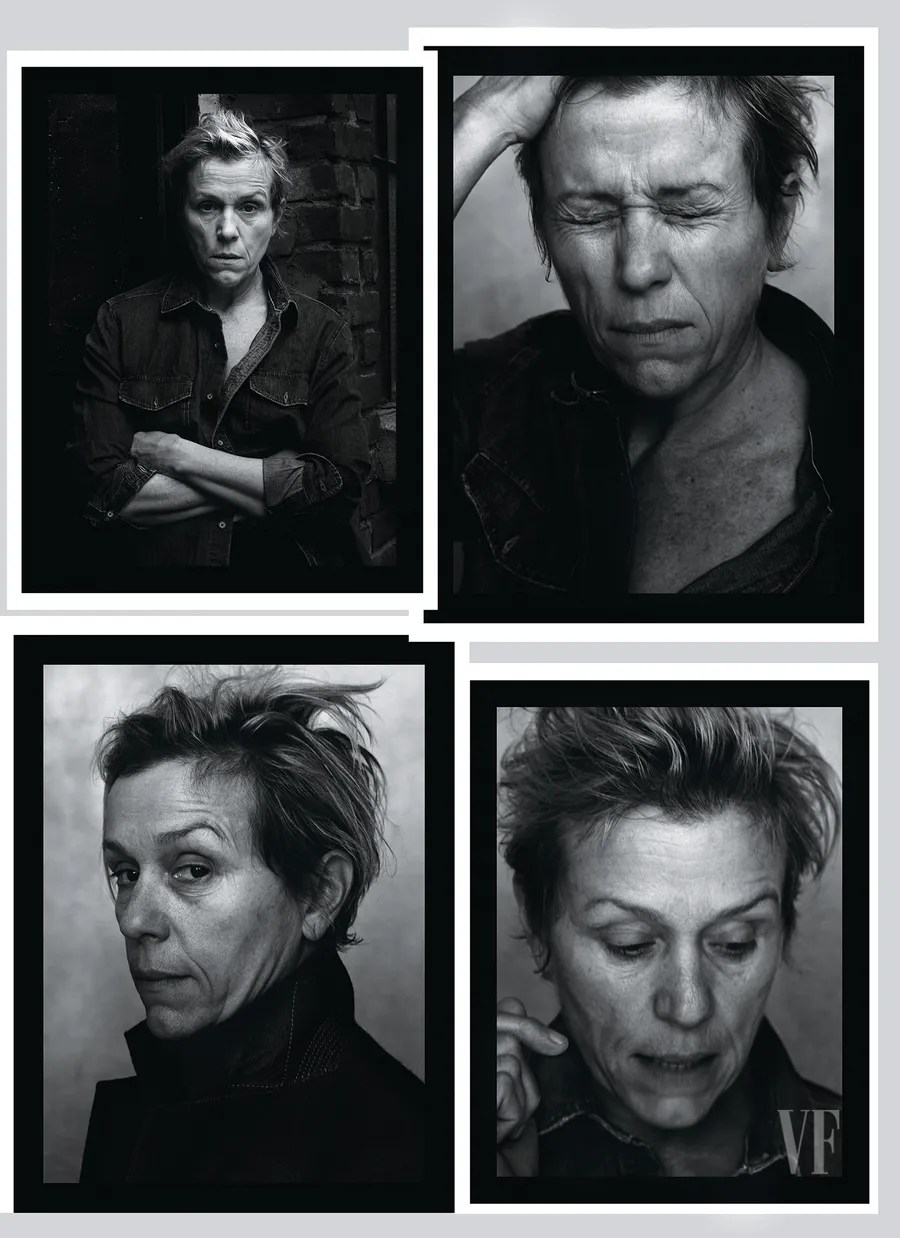 Frances McDormand, photographed in New York City.