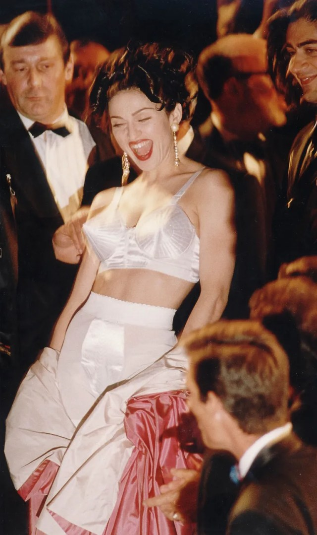 Madonna at Cannes, 1991