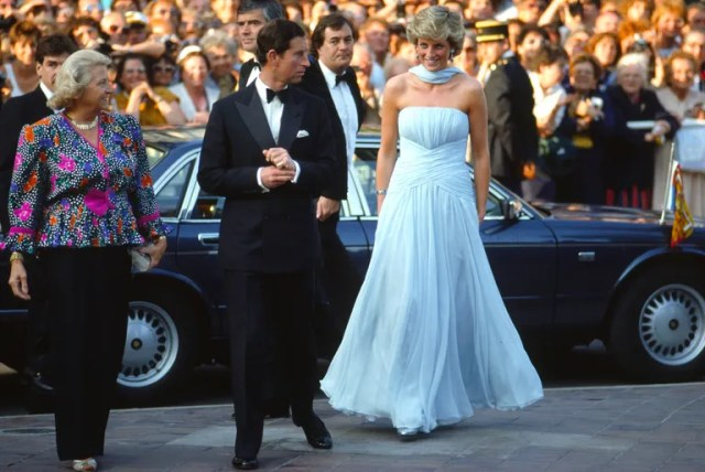 Prince Charles and Princess Diana at Cannes, 1987