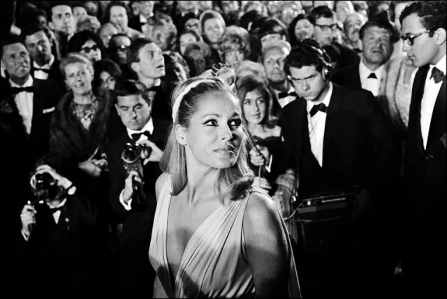 Ursula Andress at Cannes, 1965