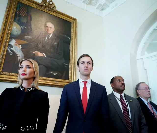 God Is Good Jared Kushners New West Wing Life Involves Keeping His Head Down And A Little Kim Kardashian