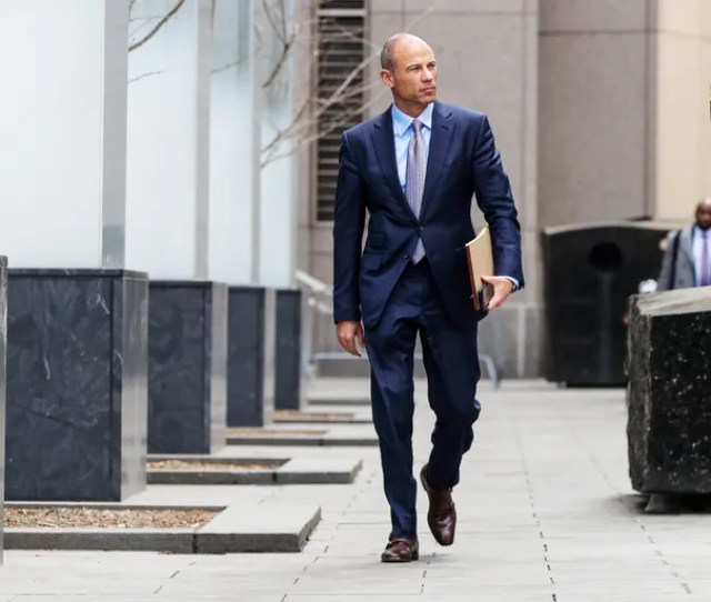 Michael Avenatti Attorney For Stormy Daniels Is Pictured Outside The Manhattan Federal Court In