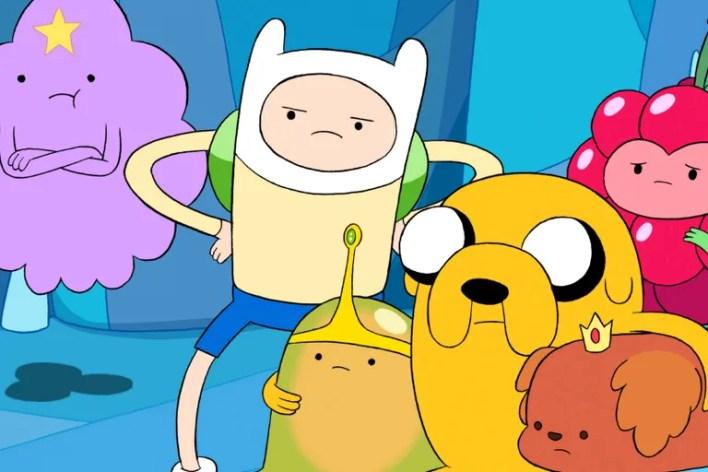"""<ol start=""""11""""> <li><em>Adventure Time</em> (2010-2018)</li> </ol>"""