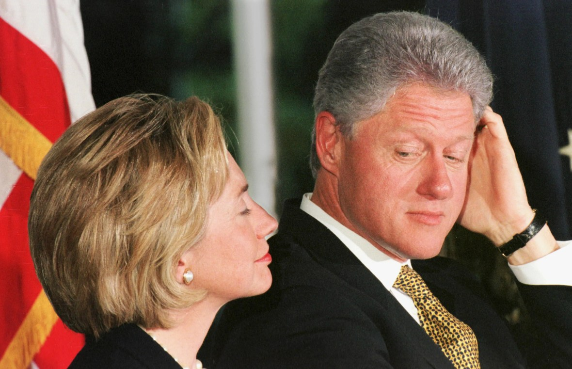 Image result for bill clinton looking sleazy
