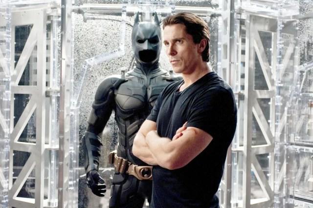Christian Bale stars in *Batman*.
