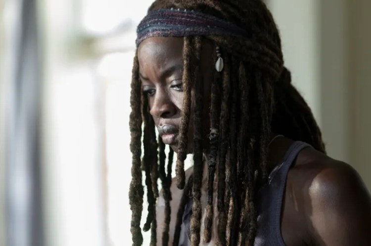 Danai Gurira as Michonne - The Walking Dead _ Season 9, Episode 5 - Photo Credit: Jackson Lee Davis/AMC