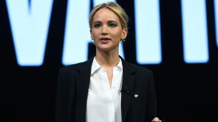 "Jennifer Lawrence Denies Ever Having Sex with ""Predator"" Weinstein"