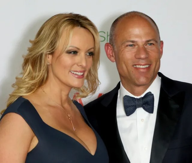 Stormy Daniels And Attorney Michael Avenatti Attend The 2019 Adult Video News Awards At The Joint