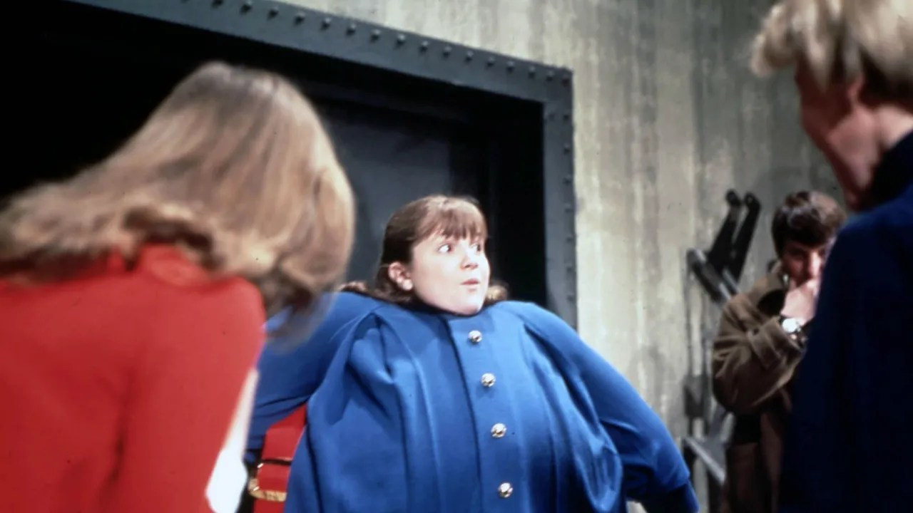 Violet Beauregarde Blueberry Inflation Girl