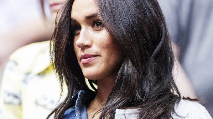 for a brief, beautiful moment, meghan markle seemed to be