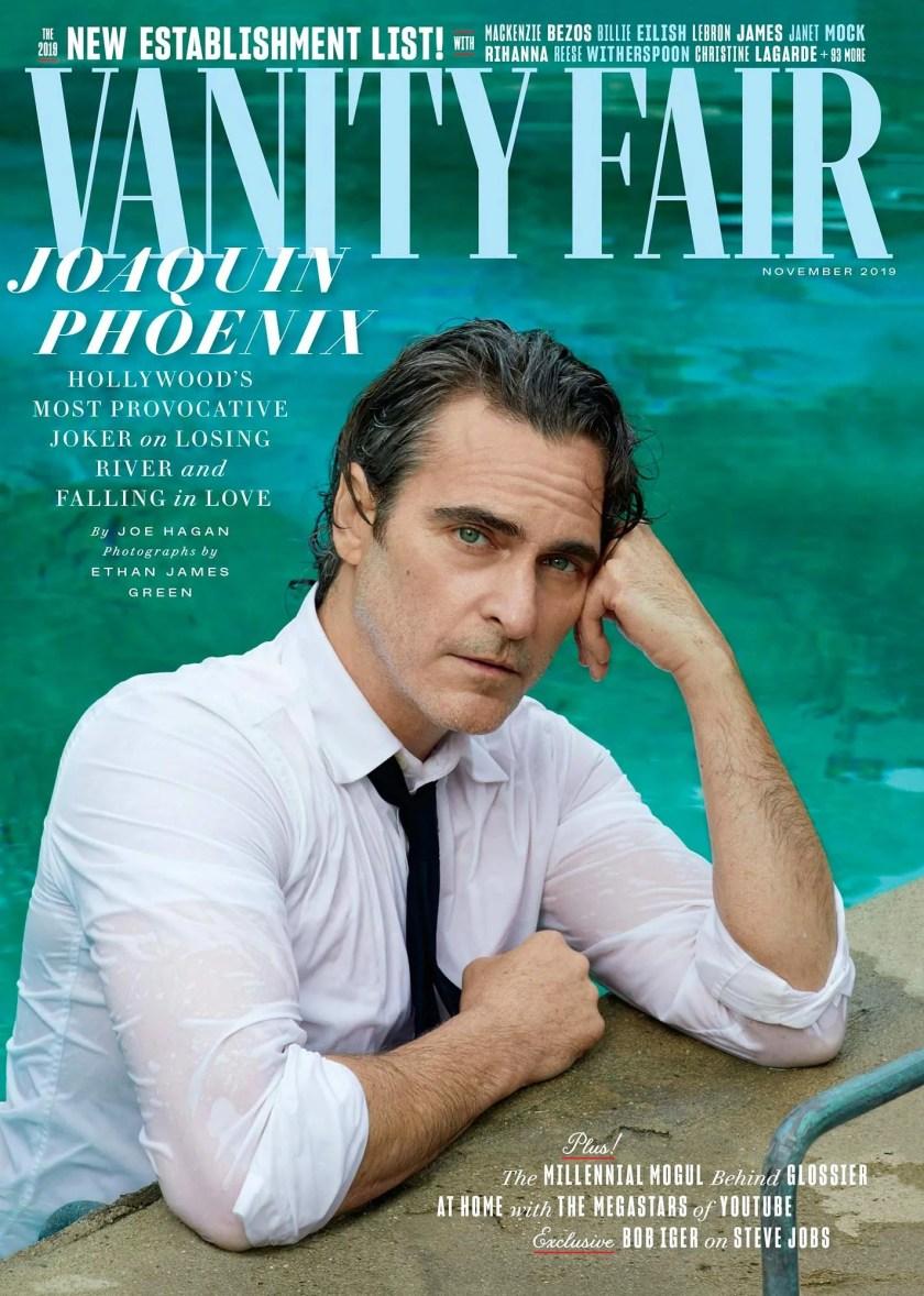 Joaquin Phoenix magazine cover