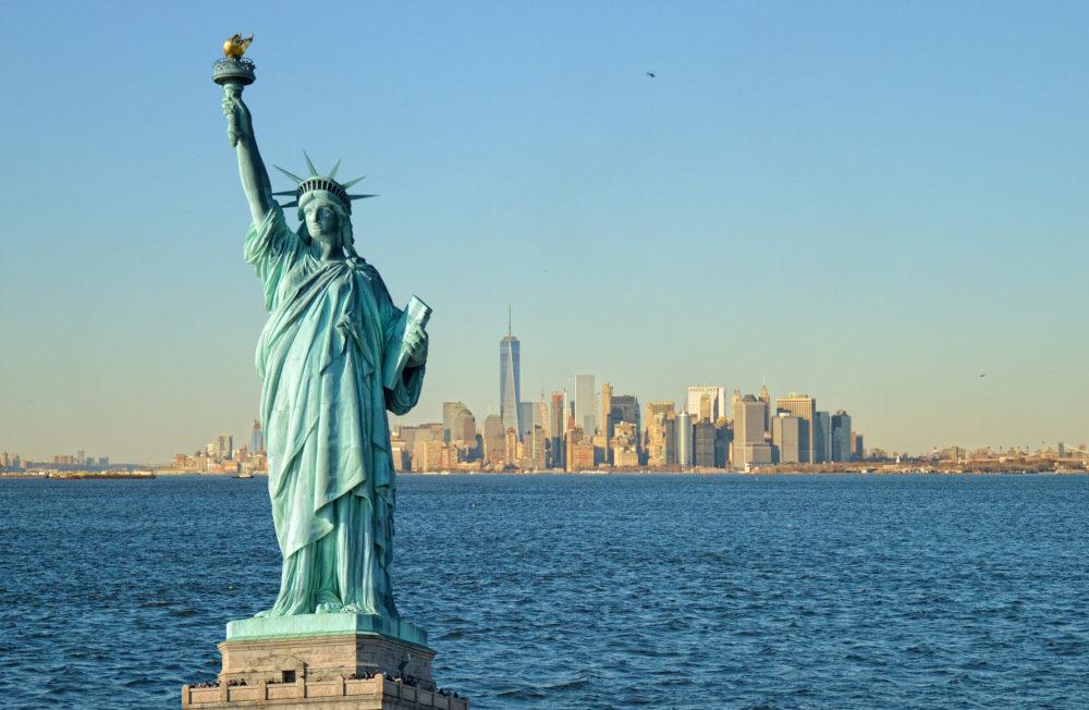 sevärdheter i New York, sevärdheter i USA, Statue of Liberty, kända byggnader i USA, kända byggnader i New York