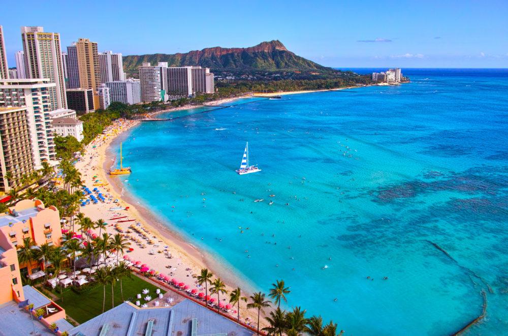 bästa stränderna i världen, strand i Hawaii, bästa stränderna i Hawaii, strand i USA, bästa stränderna i USA
