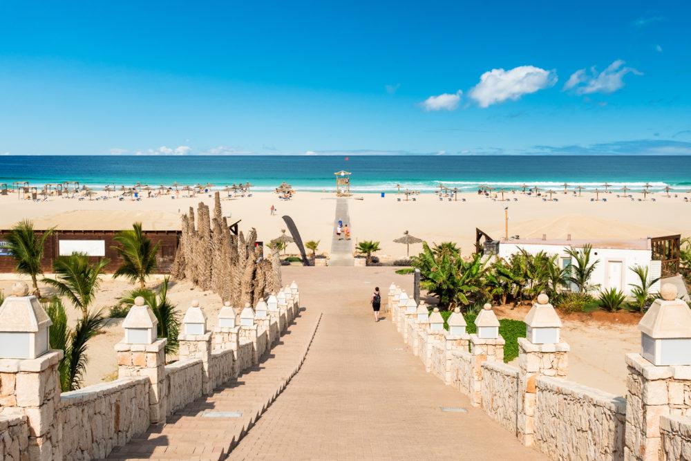 stränder på Boavista, strand på Boavista, stränder i Kap Verde, strand i Kap Verde