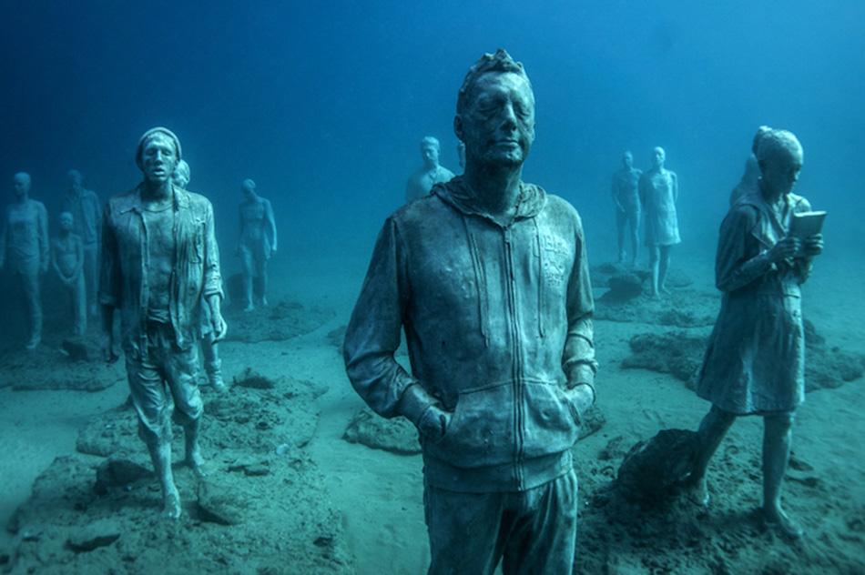 Kanarieön Lanzarote har fått ett nytt undervattensmuseum – och vilket museum det är!