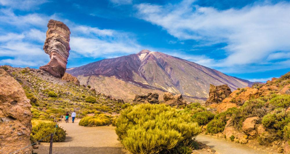 spansk ö, Kanarieöarna, resor till Spanien, resor till Teneriffa
