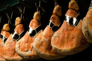 skinka i Italien, italiensk skinka, italiensk mat, italienska maträtter, mat i Italien