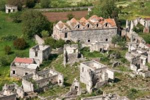 resa till Turkiet, Turkiet resa, semester Fethiya, utflykter Fethiya, Turkiet utflykter, övergiven stad, övergivna städer, spökstad, spökstäder