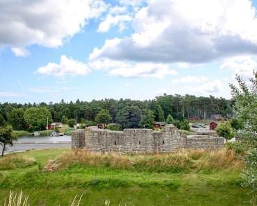 Åhusborgen, borgen i Åhus, Aosehus