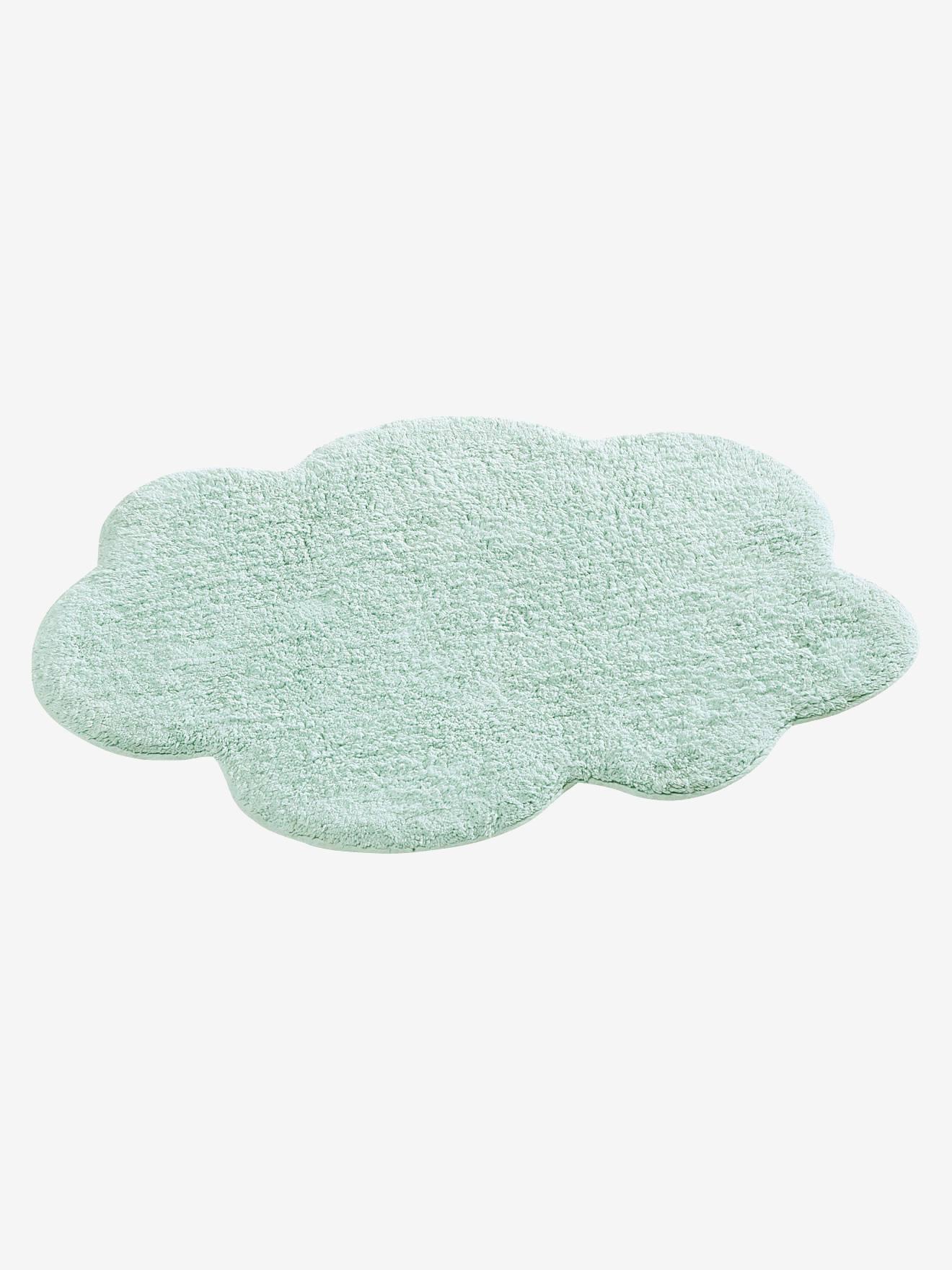 tapis nuage bleu