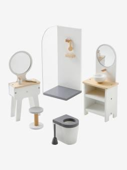 Mobilier de salle de bain pour poupée mannequin blanc 1 - vertbaudet enfant
