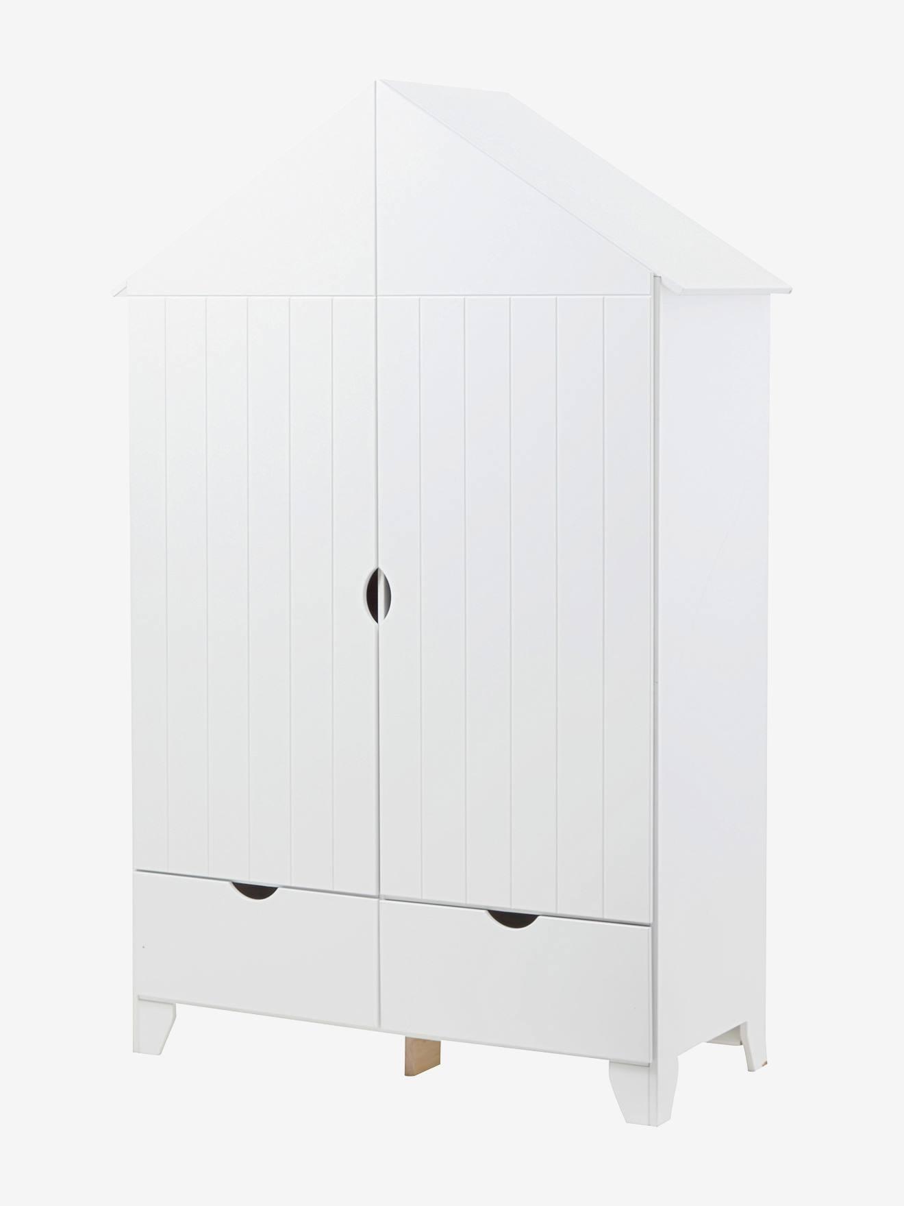 armoire 2 portes holidays xl blanc