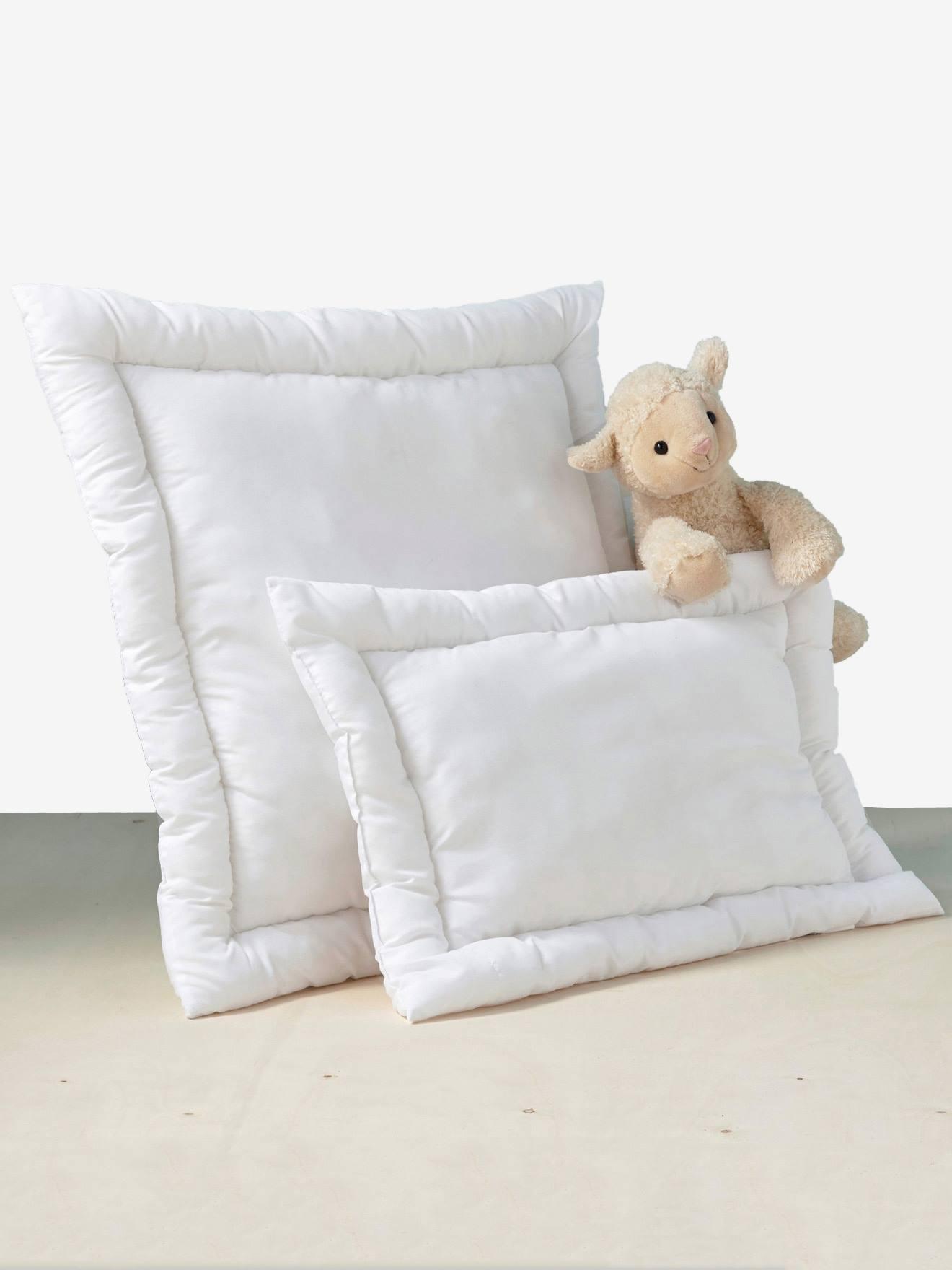 meubles et linge de lit literie oreiller plat anti acariens traite bi