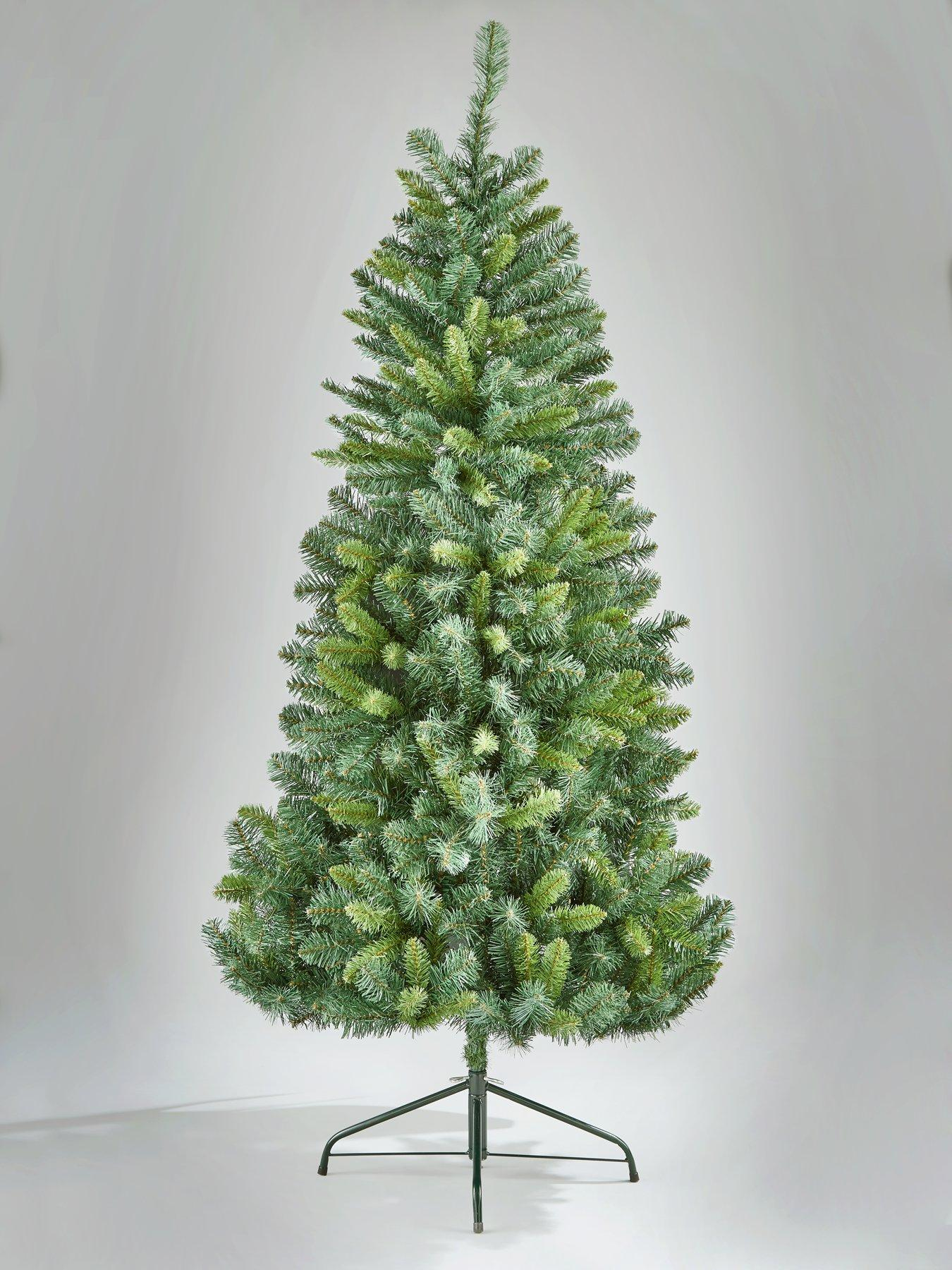 Christmas Trees Green White Christmas Trees Very Co Uk