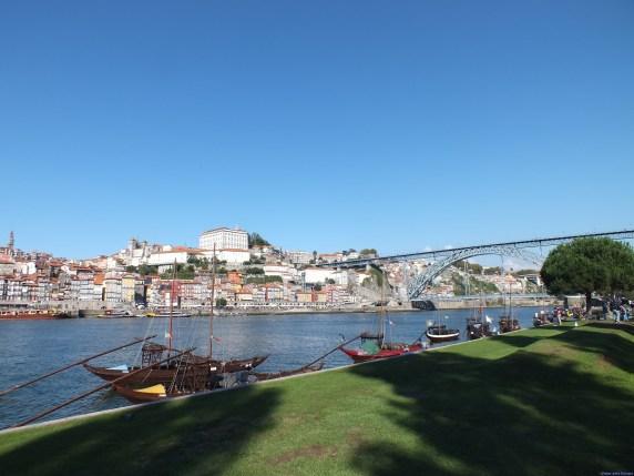Ribeira do Porto, vista do Cais de Gaia.