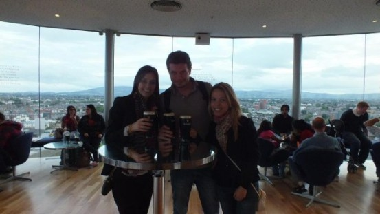 Bar da Guiness Storehouse