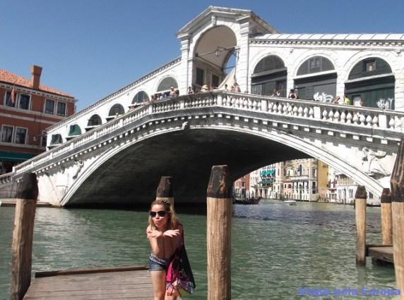 Ponte de Rialto, Veneza.