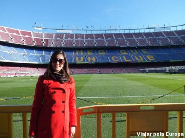 Estádio do Barcelona.
