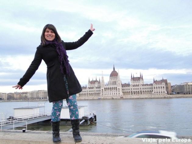 Parlamento as margens do Danúbio :)