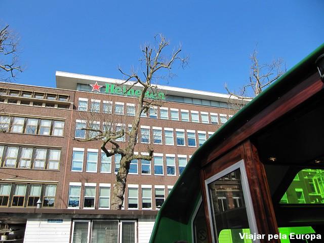 Fábrica da Heineken, Amsterdam.