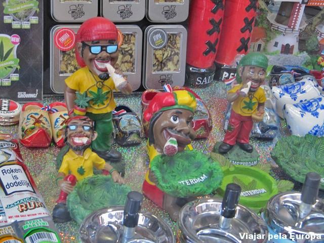 Loja de Souvenir em Amsterdam.