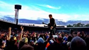 Bon Jovi - Estádio de Estocolmo - Foto por: Daniel Kifarkis