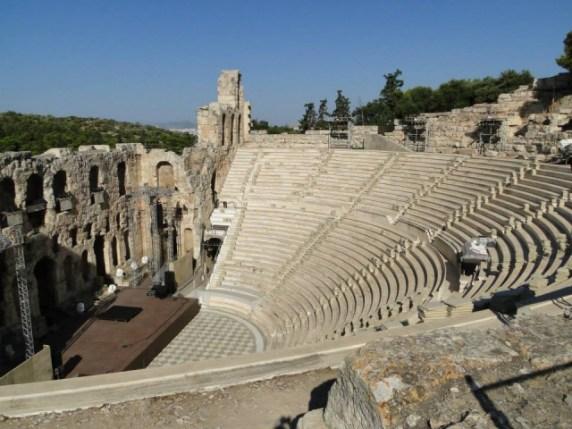 Teatro de Herodes Atticus - Atenas. Foto por: Naiara Back