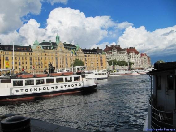 passeios de barco em Estocolmo