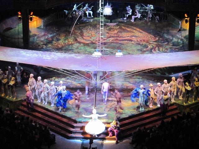 Cirque du soleil - Espetáculo Alegria - Estocolmo 2013 - Foto por: Gisele Almeida