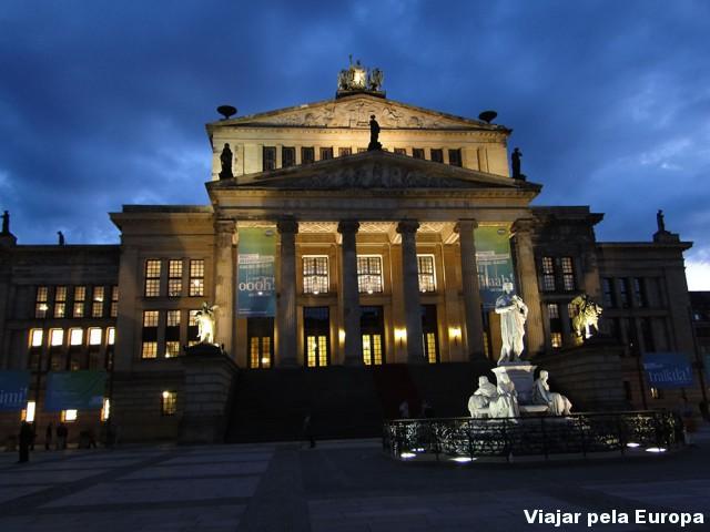 Frente da Konzerthaus Berlin
